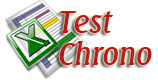 Test chrono - Fichier MSExcel